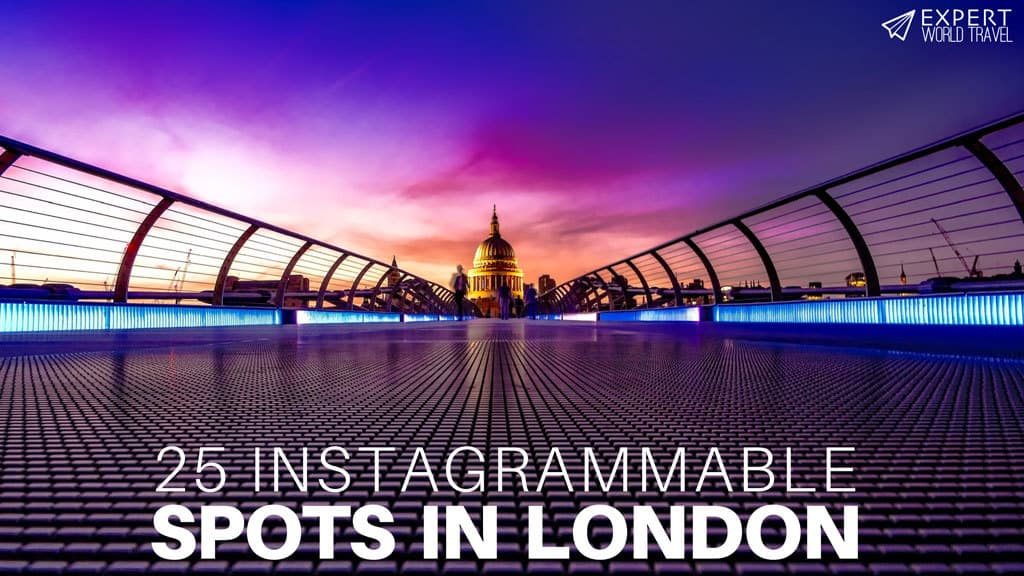 instagrammable locations london
