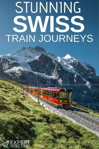 Want to explore Switzerland by train? These stunning train journeys are some of the best in Europe.