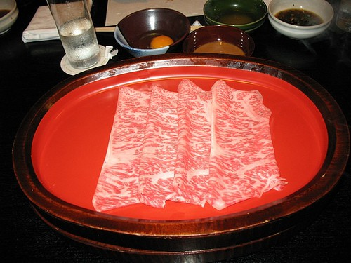 Japanese Kobe beef, photo