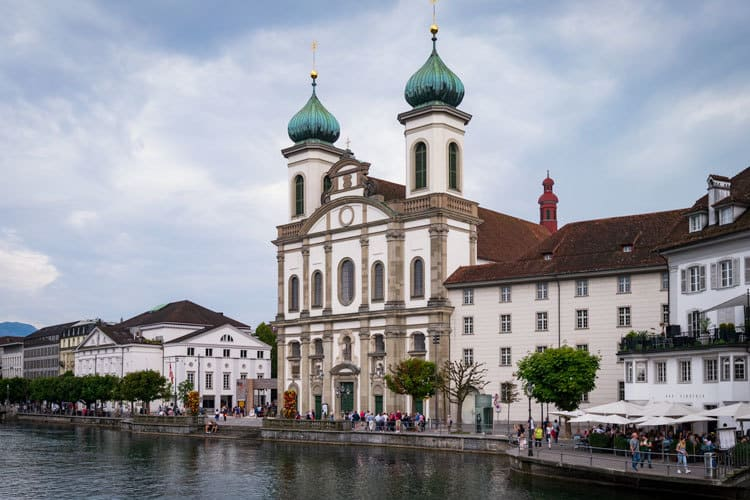 lucerne jesuit church