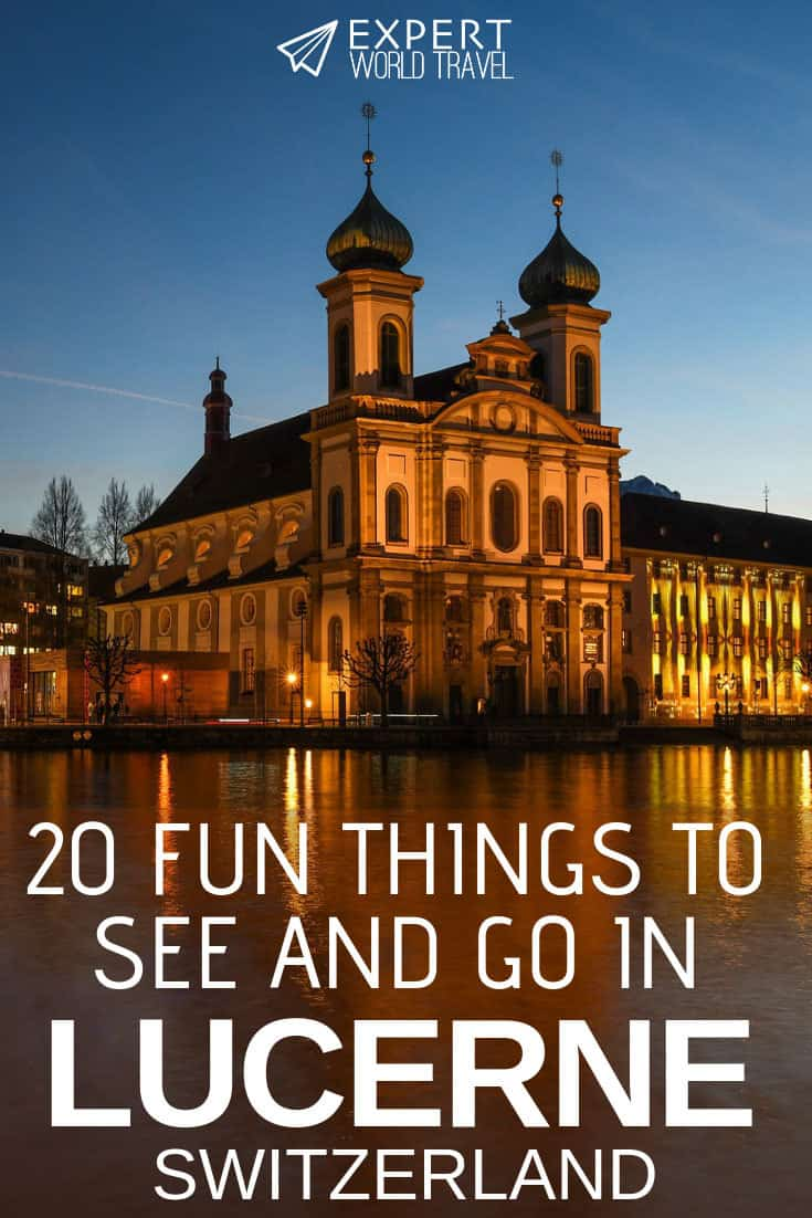 Trying to figure out what to do in Lucerne on your trip? Come read our comprehensive guide, to see which places you must visit in this city!