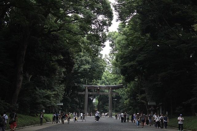 yoyogi park japan