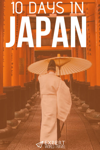 Planning a trip to Japan? Then you must read our detailed guide - it will help you really make the most of your 10 days in this beautiful country!