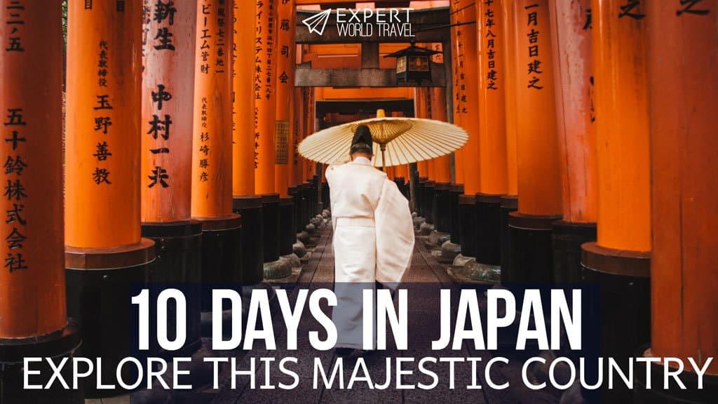 10 days japan