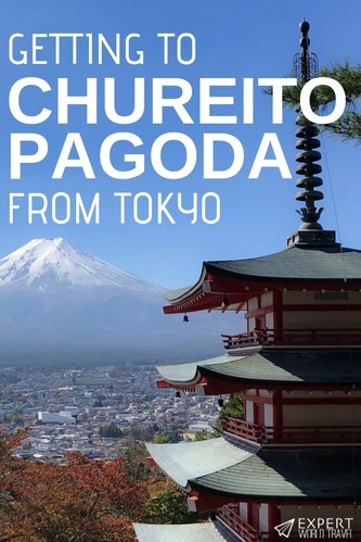 If you are primed to get the best view possible of Mount Fuji then Chureito Pagoda is the place to do it! Here's how to get to Chureito Pagoda from Tokyo.