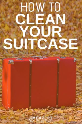 Wondering how to get those nasty stains out of your suitcase? This detailed guide will help you make your old suitcase look brand new and shiny!