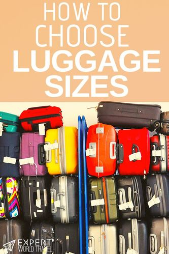 Not sure which suitcase size is right for you? We can help you figure it out! In this guide we'll help you choose and show you some awesome suitcases!
