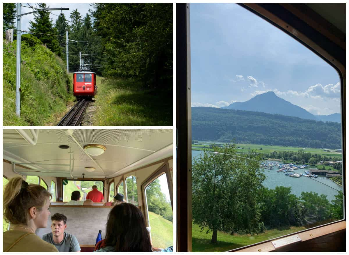 cogwheel train pilatus