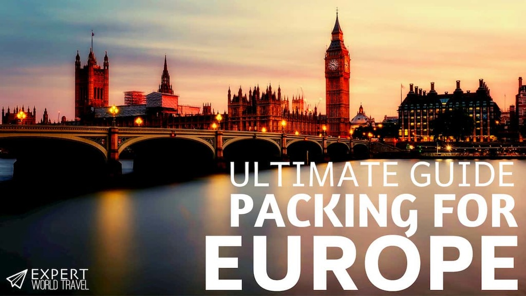 Packing guide for Europe