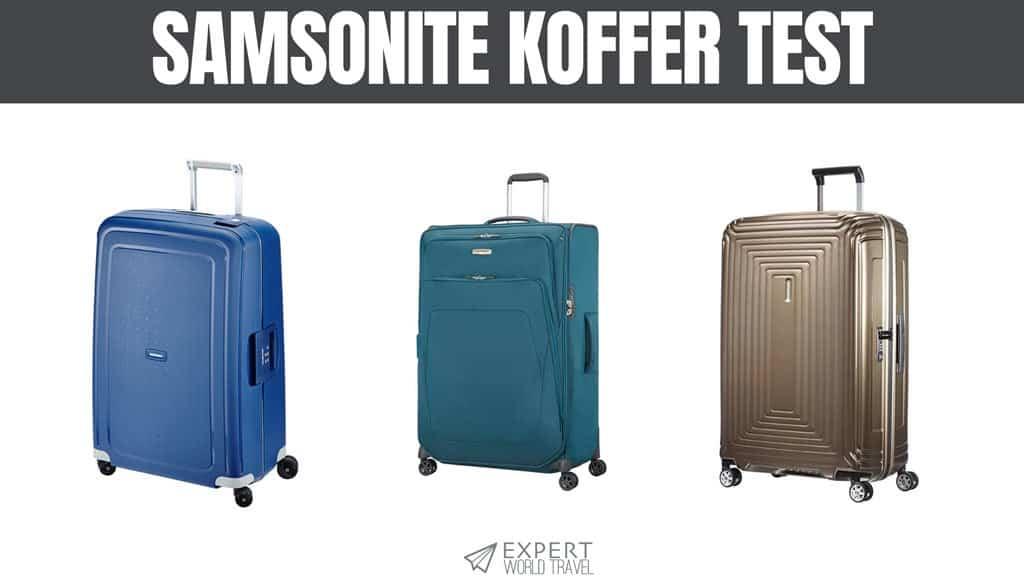 samsonite koffer test
