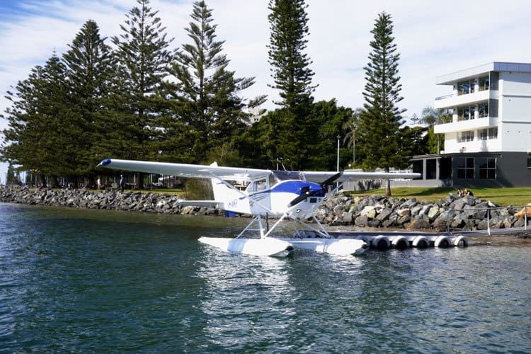 scenic flight port macquarie