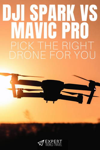 Should you buy the Mavic Pro or DJI Spark? One flies for nearly twice as long, the other has ninja hand gestures. See all the details here.