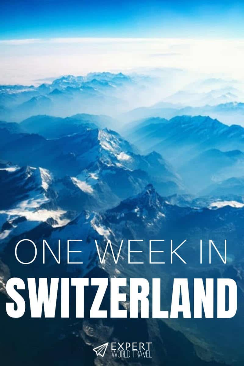 Heading to Switzerland but not sure what to see or where to stay? This ideal one week itinerary includes all the highlights and enough flexibility for anyone.