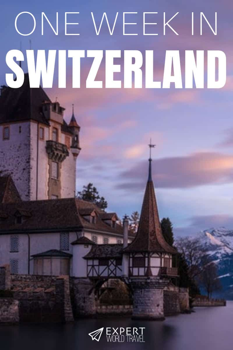 Heading to Switzerland but not sure what to see or where to stay? This ideal one week itinerary includes all the highlights and enough flexibility for anyone