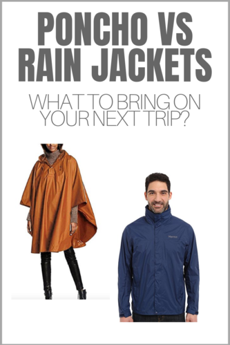 Going on a hike but not sure how to keep yourself dry? Join the poncho vs. rain jacket debate and decide the right gear you should bring on your next trip.