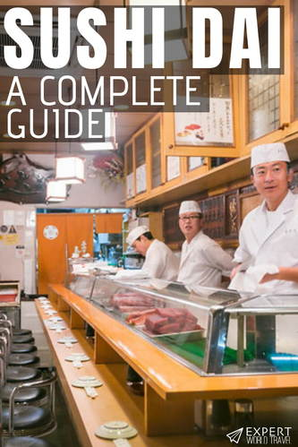 Where to go, how to find it, and how to beat the queue: here's everything you need to know to make the most out of your trip to Sushi Dai.
