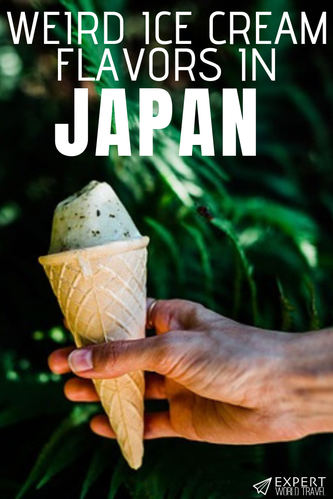Japan has some very weird culture, like their ice cream flavors. Have you ever seen them? From Wasabi to Seaweed, some will freak you out!