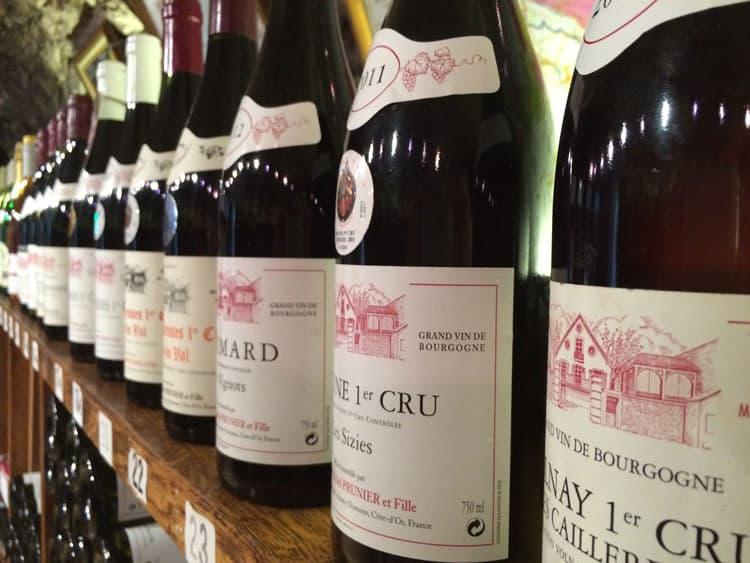burgundy wine shop