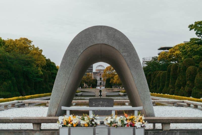 Hiroshima Victims Cenotaph