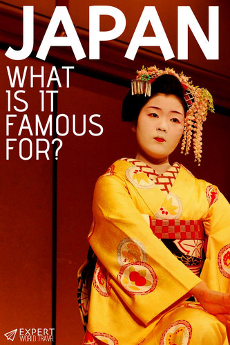 Ever wondered what Japan is really famous for? From geishas to cherry blossoms - here are the 20 most famous things from Japan!