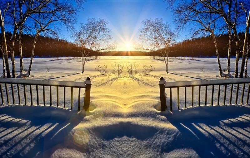 Snow Sweden
