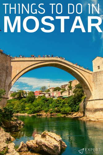 FInd out what the best things to do in Mostar and its surroundings are! The top things to spend your limited time and budget on when you are visiting.