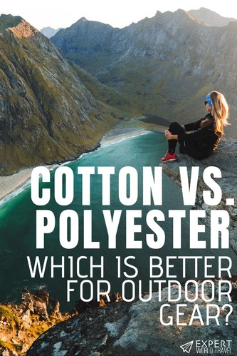 Cotton and polyester are the two most popular fabrics in the world. But, which is better for outdoor gear? We discuss that in this detailed comparison!