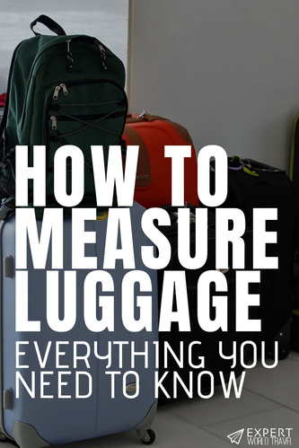 Want to make sure your luggage is the right size for carry on or check in restrictions? This is everything you need to know about measuring your luggage.