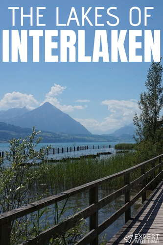 """Discover all there is to know about two of Switzerland's most stunning lakes - Lake Brienz and Lake Thun, the Lakes of Interlaken!"""""""