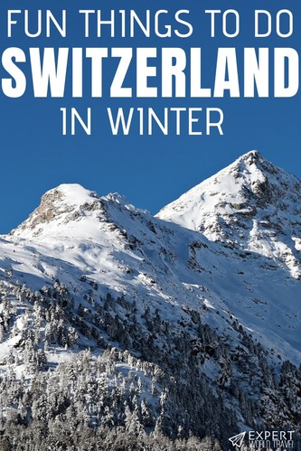 Switzerland is a great destination for a winter vacation. And not only for skiing. Here are 8 fun things you can do in Switzerland in winter.