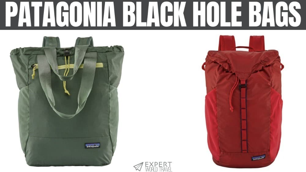 Patagonia Black Hole Bags