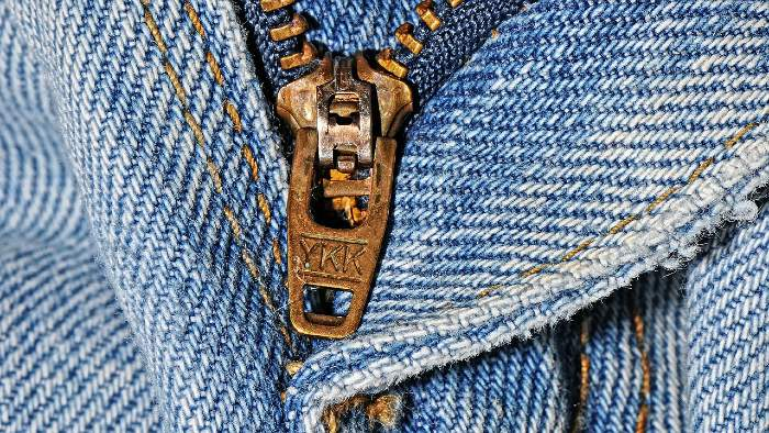YKK Zipper Old