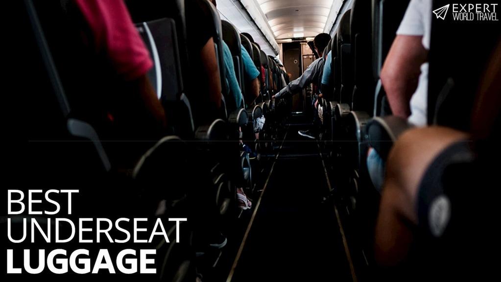 best underseat luggage
