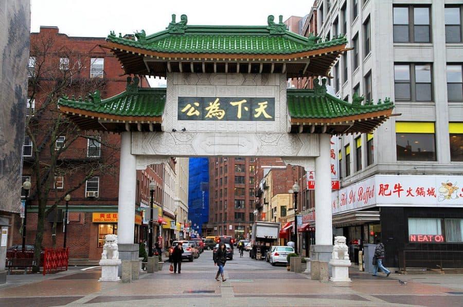 boston chinatown paifang gate
