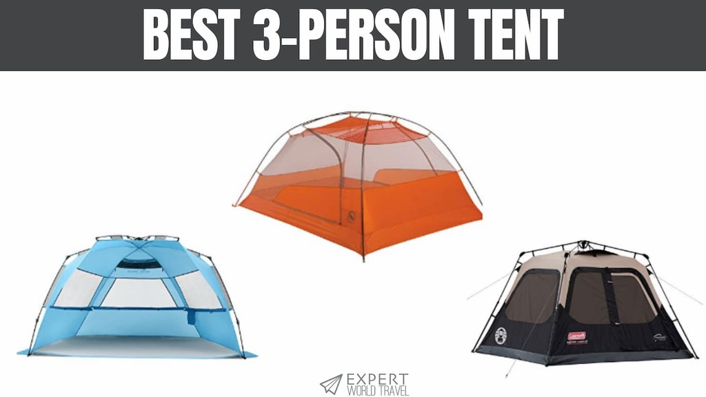 Best 3 Person Tent For Comfy Camping ⋆ Expert World Travel