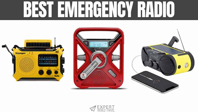 Great One Emergency Solar Crank Radio with Flashlight /& Reading Lamp,NOAA Weather Radio,2000mAh Power Bank and SOS Alarm 018WB Green 2019 Upgraded Version