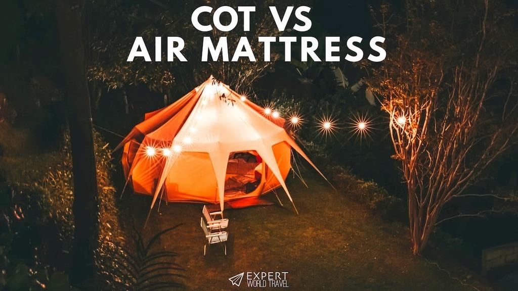cot vs air mattress