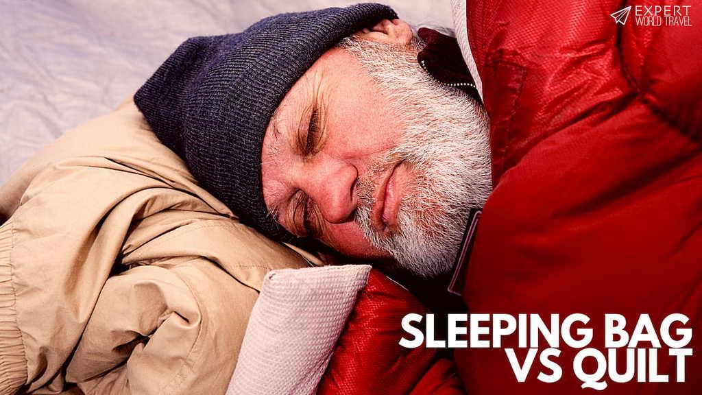 sleeping bag vs quilt