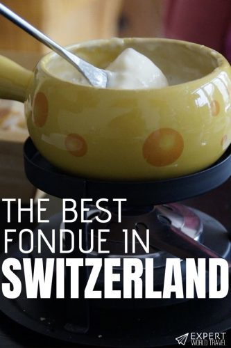 Looking for the best places to get fondue, the mouth-watering traditional Swiss dish? Here are some of the best in Switzerland!