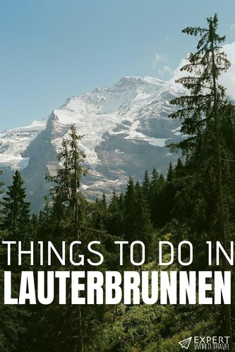 Thinking about visiting Lauterbrunnen? It's a popular spot for a reason, and this guide on the 10 best things to do in the area makes it obvious why!