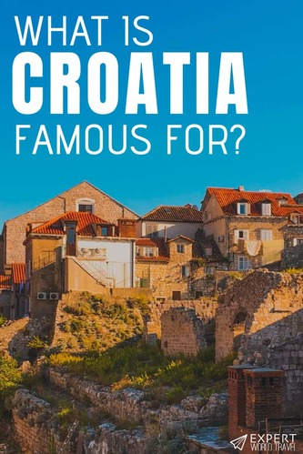Unsure what Croatia is famous for? Well that's about to change - come read our post and the most popular things this Mediterranean country is known for!