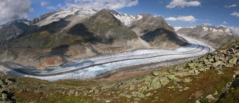 aletsch glacier longest