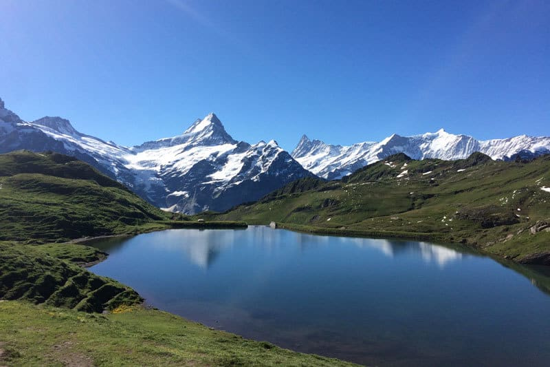 bachalpsee eiger reflection