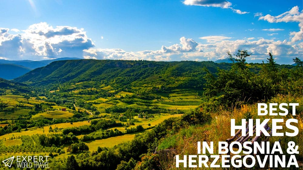 best hikes bosnia