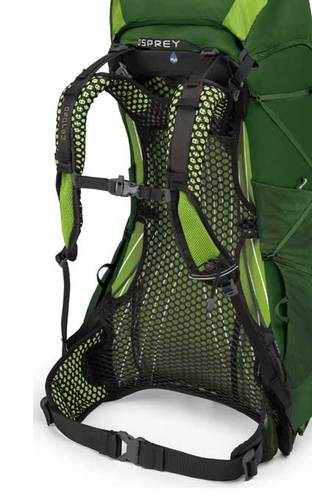 osprey exos backpanel comfort