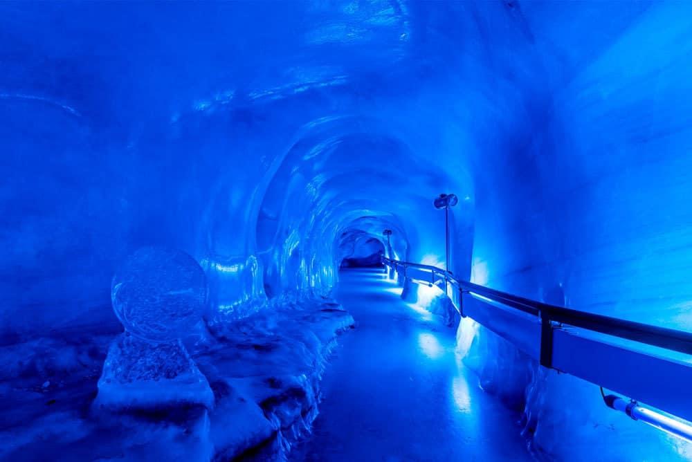 The Titlis Glacier Grotto