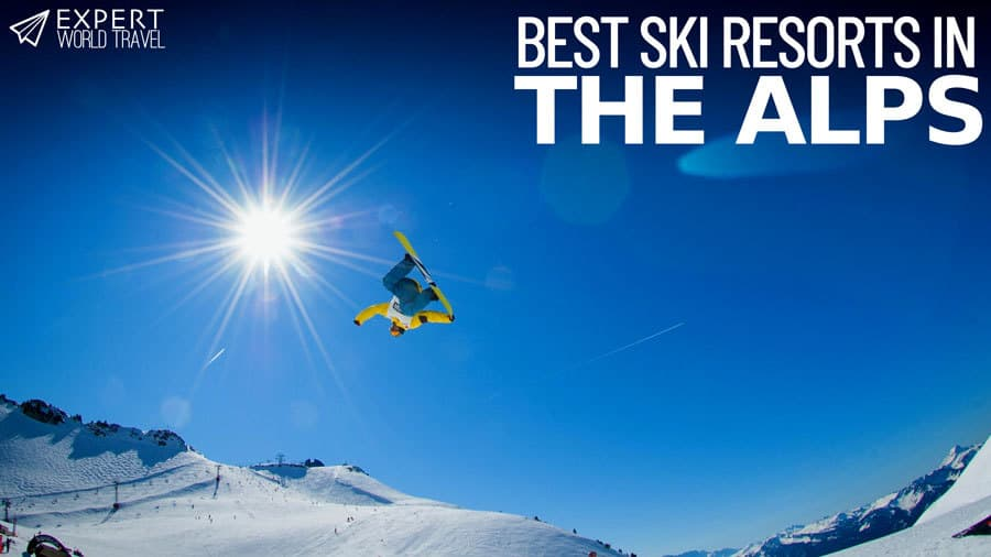best ski resorts alps