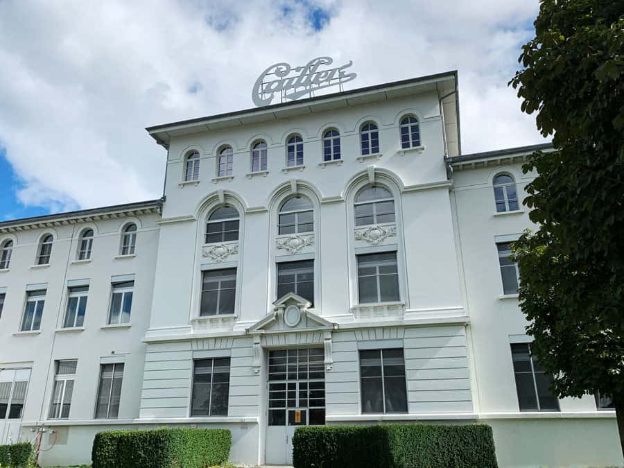 callier chocoloate factory broc switzerland