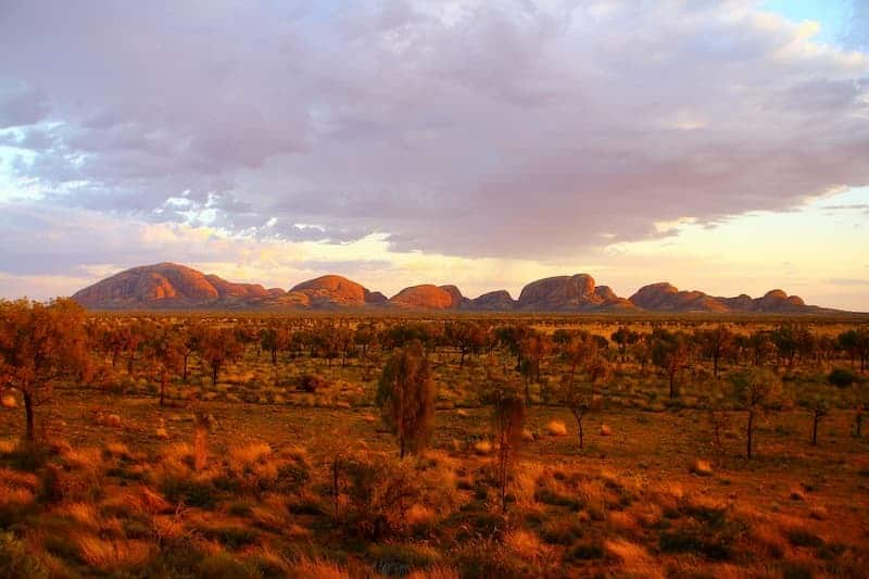 red centre norther territory