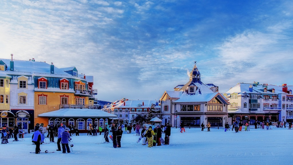 mont tremblant best ski resort canada